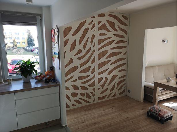 Panele Dekoracyjne Ścianki Ażurowe Parawany Ażurowe Wymiar 90x220cm
