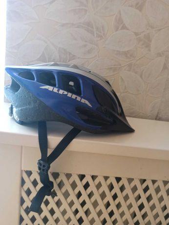 """Продам велошлем """"Alpina"""",отличное состояние.Оригинал"""