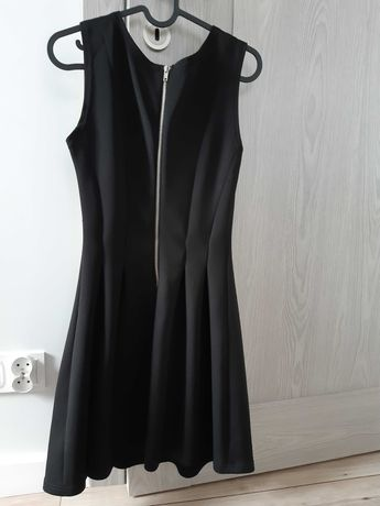 Krótka czarna sukienka rozm 36/S CALLIOPE