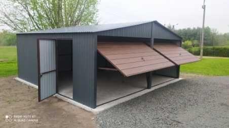 garaz blaszany 6x5 garaż blaszak 5x5 6x6 6x5.80 garaze