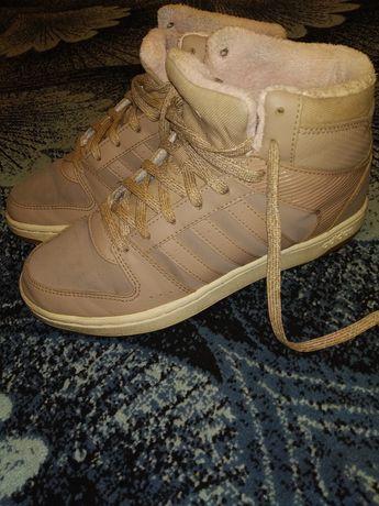Ботинки осенние кроссовки Adidas оригинал 37-38 р 24.5 см