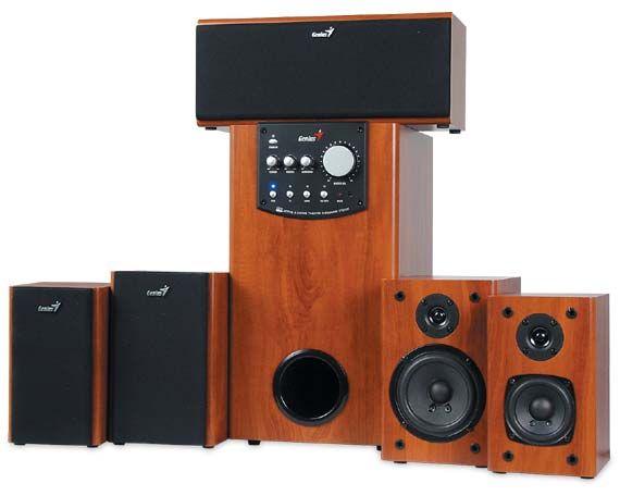 Genius SW-HF 5.1 аудиосистема колонки обмен