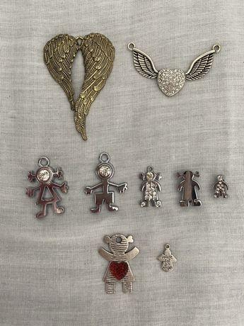 Pendentes para colares/pulseiras
