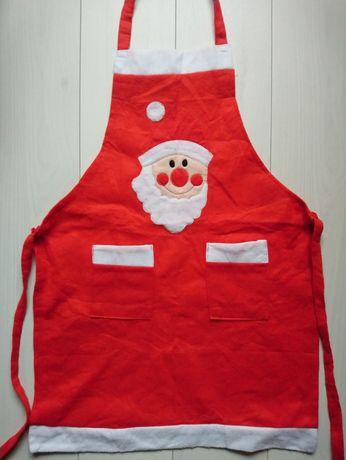 Новорічний кулінарний кухонний фартух