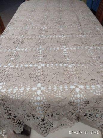 Toalha de Crochet