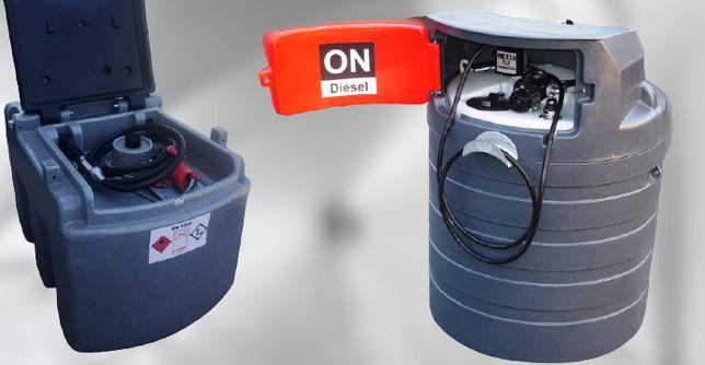 Zbiornik paliwo 460L mobilny - dwupłaszczowy/ 1500L / 2500L / NOLEN