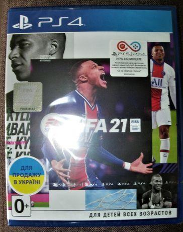 """FIFA 21. Новый Русский Диск PS4 """"FIFA 21"""" можно обновить до PS5"""
