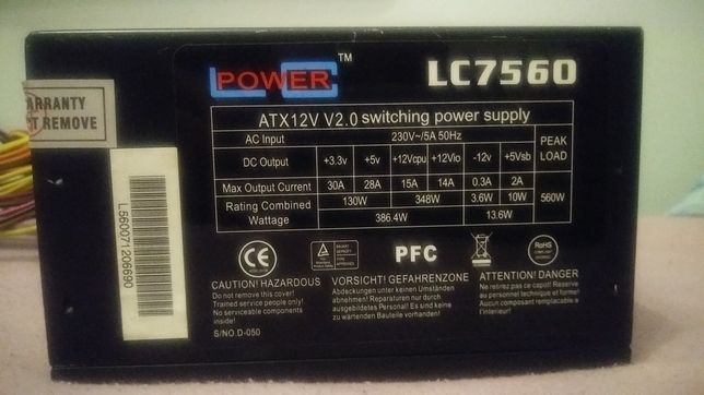 Zasilacz Lc Power 560w