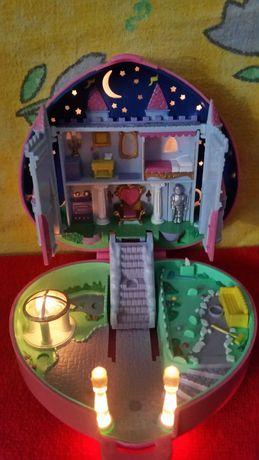 Polly Pocket 1992 kolekcjonerski zamek serce