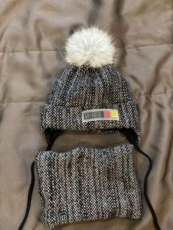 Продам зимние и деми шапки, 44-46 H&M, Dembo