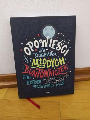 Książka opowieści dla młodych buntowniczek