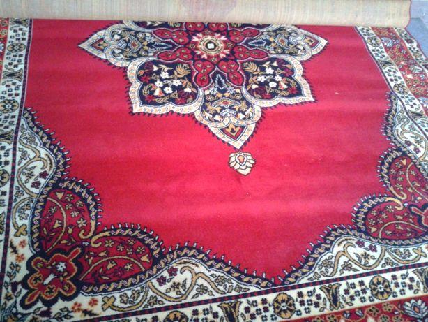 Nowy wełniany dywan PRL 250 x 350 cm