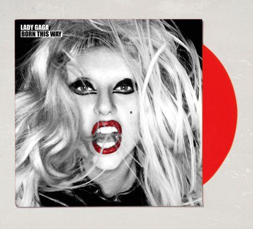 Lady Gaga - Born This Way Limited 2XLP red vinyl