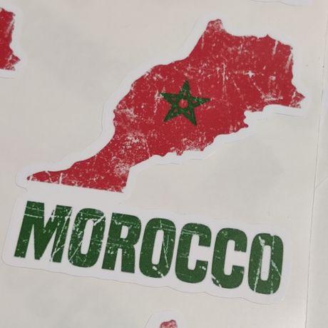 Autocolante Marrocos vinil BMW 1250 F800GS 1200 GS Africa Twin yamaha