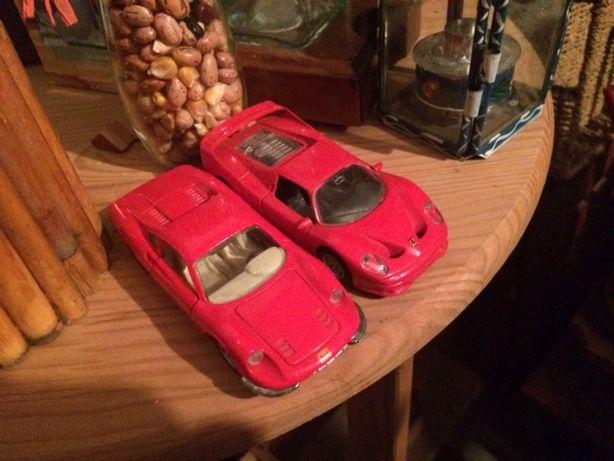 Ferraris miniaturas vermelhos (2)
