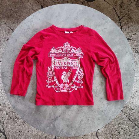 Koszulka longsleeve Primark piżama Liverpool 9-10 lat 140 piłka nożna