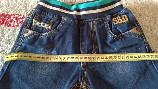 Джинсы джинсики штаны брюки джогеры для мальчика 98 рост 3-4 года