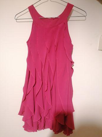 Sukienka z falbankami 146