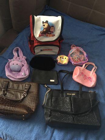 Продам сумку, косметичку, рюкзак