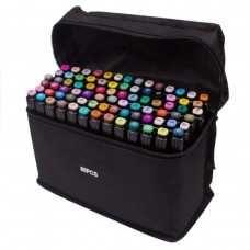 Маркеры TOUCH Sketch Marker Black 80 шт разноцветные + сумка