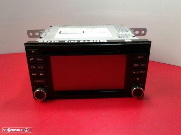 Auto-Rádio (Gps) Nissan Note (E12)