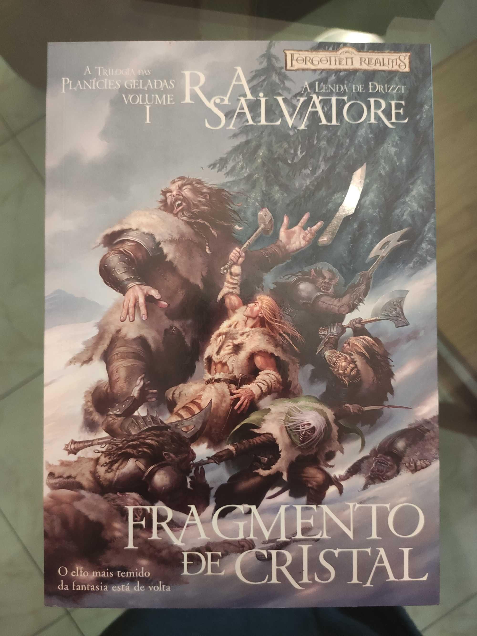 Fragmento de Cristal - R. A. Salvatore (Braga/Bragança/Lisboa)