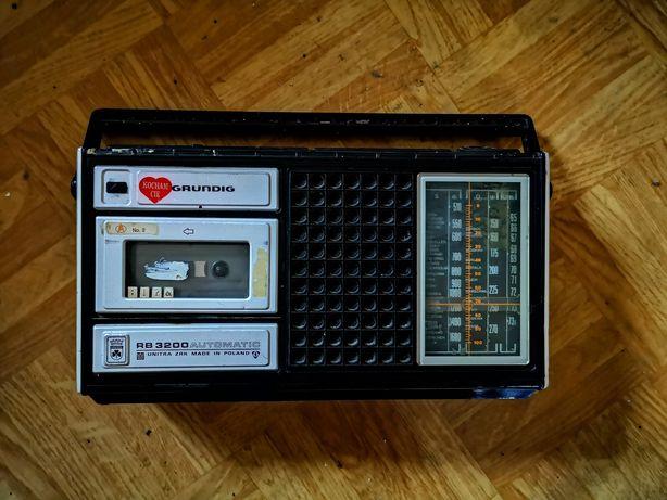 Radiomagnetofon GRUNDIG RB3200 sprawny PRL