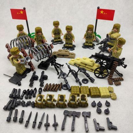 Фигурки армии Советского союза ссср военные ВОВ , аналог лего Lego