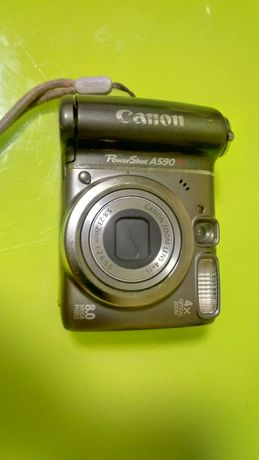 Фотоапарат, цифровой фотоапарат Canon, кенон А590