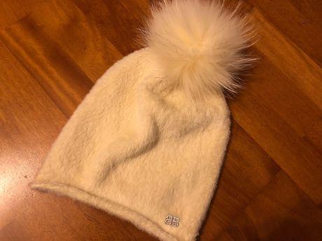BALENCIAGA czapka ,kaszmir , angora, wełna JENOT Fendi Bottega