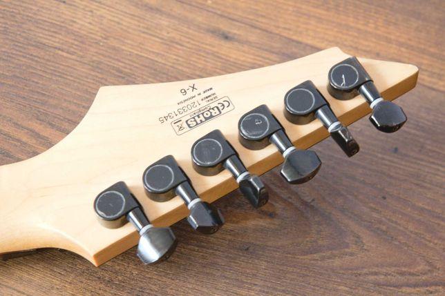 Gitara elektryczna Cort X6 BK