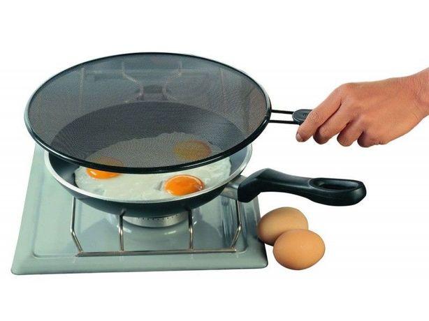 Экран защитный от брызг (2 шт) для сковороды / Сито защитное / Сушилка