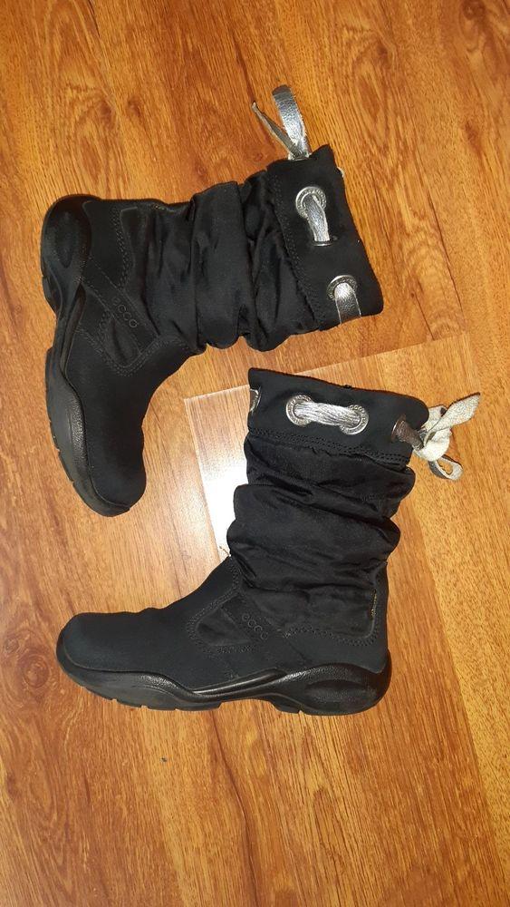 Фирменные зимние термо ботинки сапоги Ecco gore-tex оригинал рр 28 Киев - изображение 1