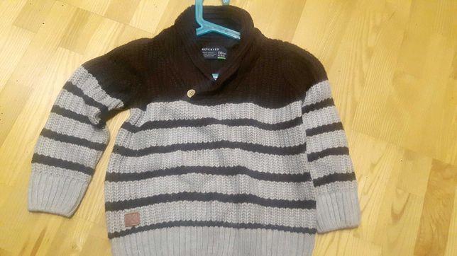 Sweterek chłopięcy reserved 110cm 4-5lat