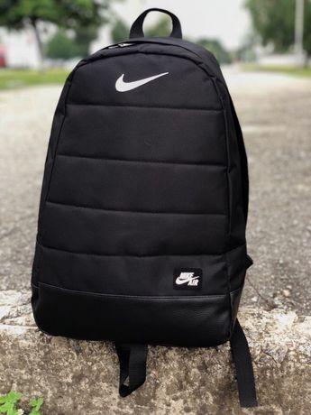 Портфельчик  городской, спортивный рюкзак Nike Air, найк. Черный