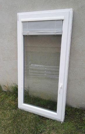Okno plastikowe PCV 92x174cm + żaluzja