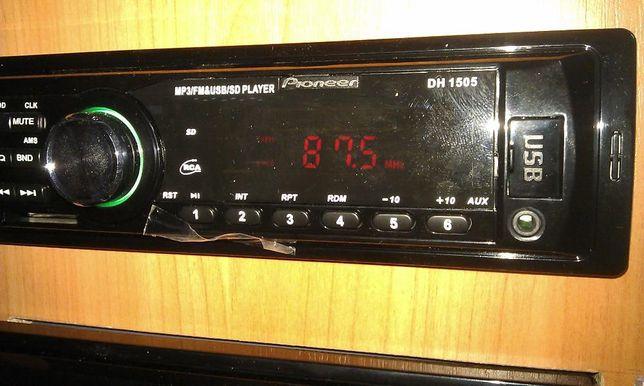 Автомагнитола Pioneer DH 1505 Новая бесдисковая с USB и слотом для SD