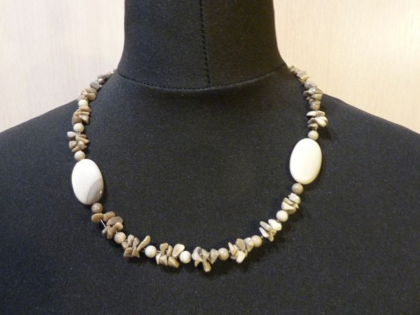 Komplet biżuterii naszyjnik bransoletka kolczyki