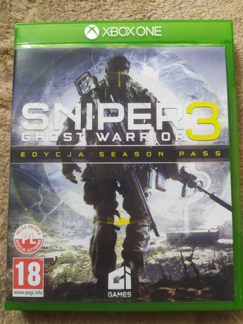 Sniper ghost warrior xbox One wersja PL