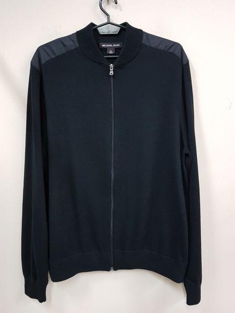 MICHAEL KORS r.XL elegancki sweter męski rozpinany USA