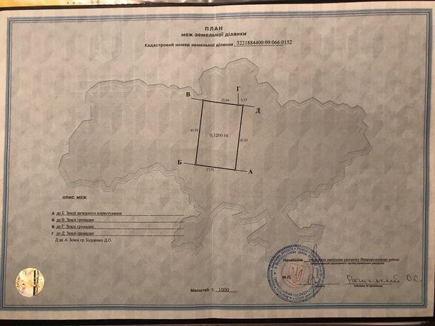 Продам участок 12 соток в с. Литвиновка
