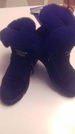 Ботиночки,нат.кожа,зима