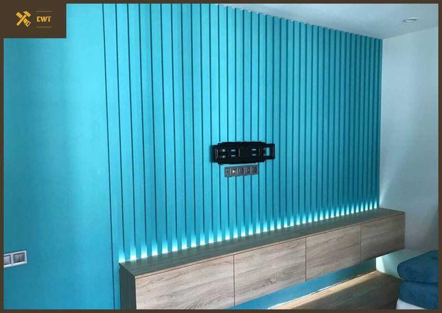 декор из деревянных реек, рейки в интерьер, рейка для интерьера