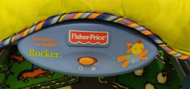 Leżaczek/ Bujadełko Fischer Price stan. Dobry