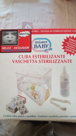 Cuba Esterilizante Mister Baby - nova