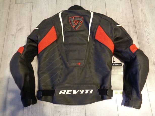 Kurtka motocyklowa REV'IT! GT-R AIR skóra, DUCATI, rozm.50, wysyłka