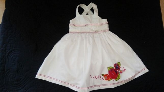 Kenzo elegancka sukienka dziewczęca 92-98