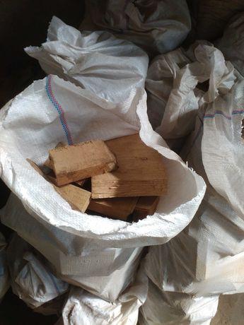 Продам дубовые дрова в мешках
