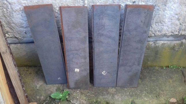 Nowe żeliwne blachy 63cm x16cm x1cm  kuchni kaflowej  prl