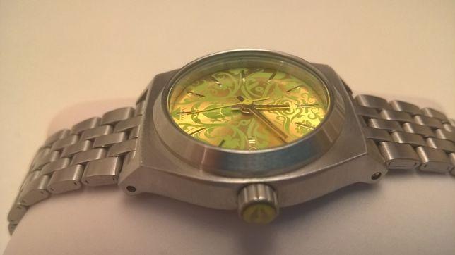 Часы наручные новые годинник nixon оригинал никсон стальные золотые